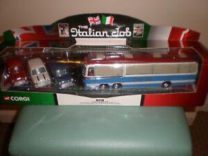 Corgi The Italian Job Coach and Mini 3 Car Set  -  NEW Boxed  Ref 36502