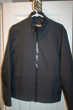 Z Zegna Charcoal/Navy Shell Jacket Size 48