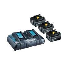Makita Chargeur + Batterie de Remplacement Kit Li 18V 5.0 Ah Bulkpower Source
