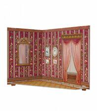Room Box for Dolls Living Room Furnishing Dollhouse Miniature 1/12 3D CARDBOARD