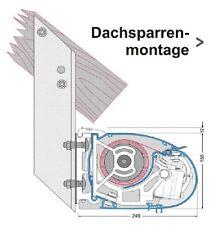Dachsparrenhalter PASSEND NUR für die Markisen Sunkis Classic und Fashion Basic