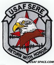 ORIGINAL USAF -  SERE - RETURN WITH HONOR - US AIR FORCE PATCH