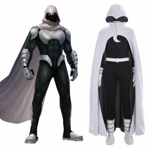 Hot! Marvel Moon Knight Cosplay Costume custom made men's outfit N