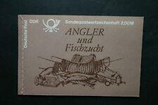 DDR 1988 MH 9 (Süßwasserfische) komplett postfrisch