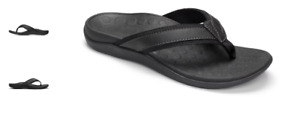 Vionic Tide Black Men's Comfort Sandal Flip Flop US sizes 7-14 NEW!!!