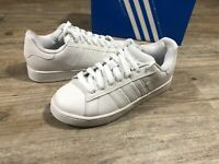 Adidas Originals Campus ST Women's Size 7 Skate Sneaker Shoes All White 019689