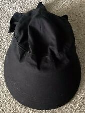 Scala Womens Visor Hat Pro Series Golf Wide-Brimmed Tie Back Packable Black 102