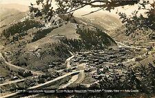 Idaho Springs CO looking toward Mt. Evens Radium Baths Chicago Clear, Soda creek