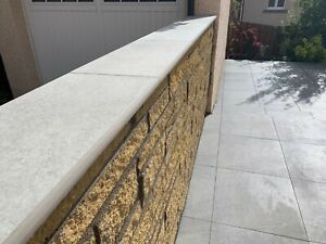 """Porcelain Coping Stone - 200x600mm - 8"""" - not concrete coping stone"""
