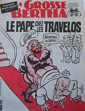 LA GROSSE BERTHA N° 38 de OCTOBRE 1991 CABU LE PAPE CHEZ LES TRAVELOS BRESIL