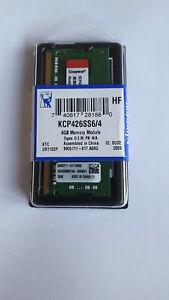 Mémoire KINGSTON KCP426SS6/4 4 Go DDR4 2666 Mhz