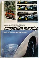 THE FORD BOOK OF COMPETITION MOTORING Jim Clark and Alan Brinton Car Book