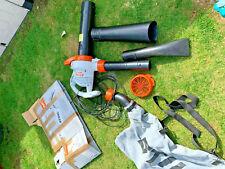 Stihl S1-She 71, Electric Leaf Blower / Vacuum / Shreader + Bag