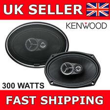 """Kenwood KFC-X693 6""""X9"""" 6x9 Car Van Door Shelf Rear Oval 3 Way Coaxial Speakers"""