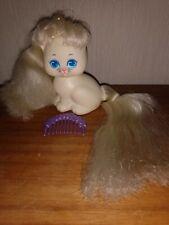 Lady lovelylocks CREAMY COAT curly kitten cat lockenlicht Boucleline flower comb