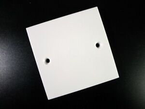 10x Blanking Face-Plate Square Single 1-Gang Wall/Socket Cover NEWLEC (RRP£49)