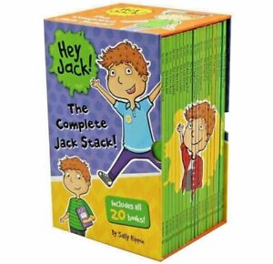 NEW Hey Jack Complete Stack 20 Books Library Collection Sally Rippin Slipcase!