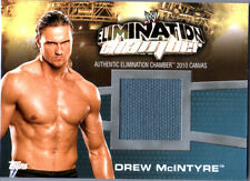 WWE Drew McIntyre Elimination Chamber 2010 Topps Event Used Mat Relic Card DWC2