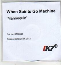 (CX25) When Saints Go Machine, Mannequin - 2012 DJ CD
