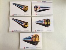 Network Southeast Set Of Five EMU And DMU Picture Cards New 1st Class Post