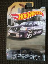 2015 Hot Wheels purple NISSAN TITAN djk98