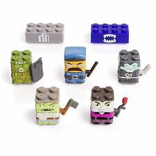 Spin Master Sick Bricks 5 Character (2) City vs Mutants & Monsters Scan To Play