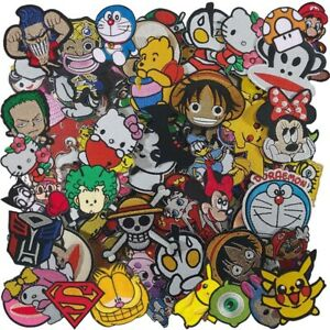 Wholesale Lot Movie Cartoon Cute Anime Superhero  Sew Iron on Embroidered Patch
