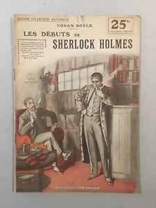 Les débuts de Sherlock Holmes - Editions Rouff - BE