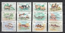Lebanon 1968,12V,horses,paarden,pferde,fish,vissen,fische,MH/Ongebruikt(A3272)