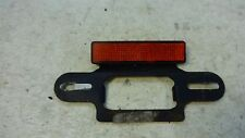 1982 Kawasaki KZ1100D Spectre KZ 1100 K408. license plate bracket red reflector