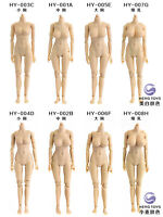 HENG TOYS 1:12 HY-003 Female Pale/Suntan Flexible Half-seamless Figure Body