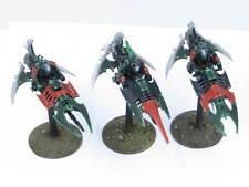 DRUKHARI REAVER JETBIKES - Painted Dark Eldar Reavers Warhammer 40k Army Db1
