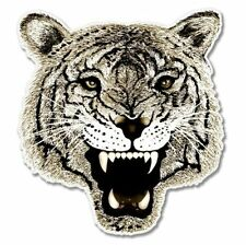 Fierce Cat Tiger Car Vinyl Sticker - SELECT SIZE