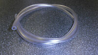 Classic Motorcycle Fuel Pipe, clear 6mm i/d. 1 meter length. 6mm i/d, 8mm o/d