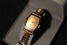 1940's Vintage Gruen Veri- Thin, Rose Gold Case , Stunning Salmon Dial,