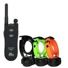 DT Systems Micro iDT-Plus Remote Control 3 Dogs Shock Training Collars