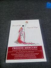 FREDDIE MERCURY lover of life, singer of songs COLLECTORS' EDITION 2 CD & 2 DVD