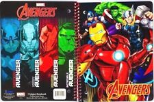 NEW Marvel Avengers Comic Book Hero 1 Subject 70 Page Wide Ruled Notebook