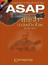 ASAP Irish Mandolin by Doc Rossi Learn How To Play The Irish Way Music Book & CD