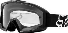 Fox Racing Adult Black Main Dirt Bike Goggles MX ATV Off-Road