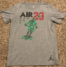 air jordan jumpman Youth Boys M T Shirt Gray A34