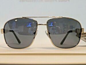 Men's Panama Jack Navigator Silver Metal Large Frame Sunglasses NEW w/$16.99 Tag