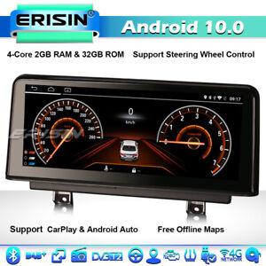 "10.25"" Android 10 CarPlay Car Stereo DAB+ Radio BMW 3er F30 F31 4er F32 F33 M3/4"