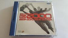 SWWS 2000 Sega WorldWide Soccer sur Dreamcast complet / SEGA / PAL