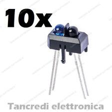 10x TCRT5000 SENSORE IR INFRAROSSO RIFLETTENTE 950mm 5V 3A Reflective Switch