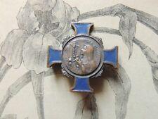 Ancienne Broche Religieuse Sainte Therese de Lisieux croix émaillée