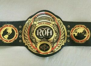 ROH Ring Of Honor World Heavyweight Championship Wrestling Belt Replica 2mm