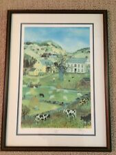 """""""Little Boy Blue"""" by Will Moses Signed Limited Edition Framed Farm Art 879/1000"""