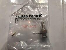 25 PCS BNC CRIMP PLUG FOR RG58 KIT PAN PACIFIC  BNC-3022
