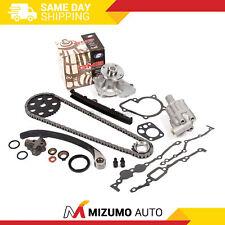 Timing Chain Kit Water Oil Pump Fit 89-97 2.4L Nissan 240SX D21 Pickup KA24E